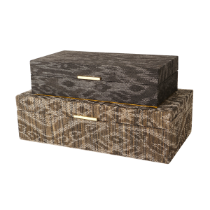 Ikat Decorative Boxes