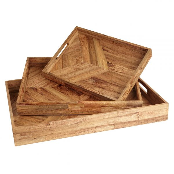 Water Hyacinth Decorative Trays