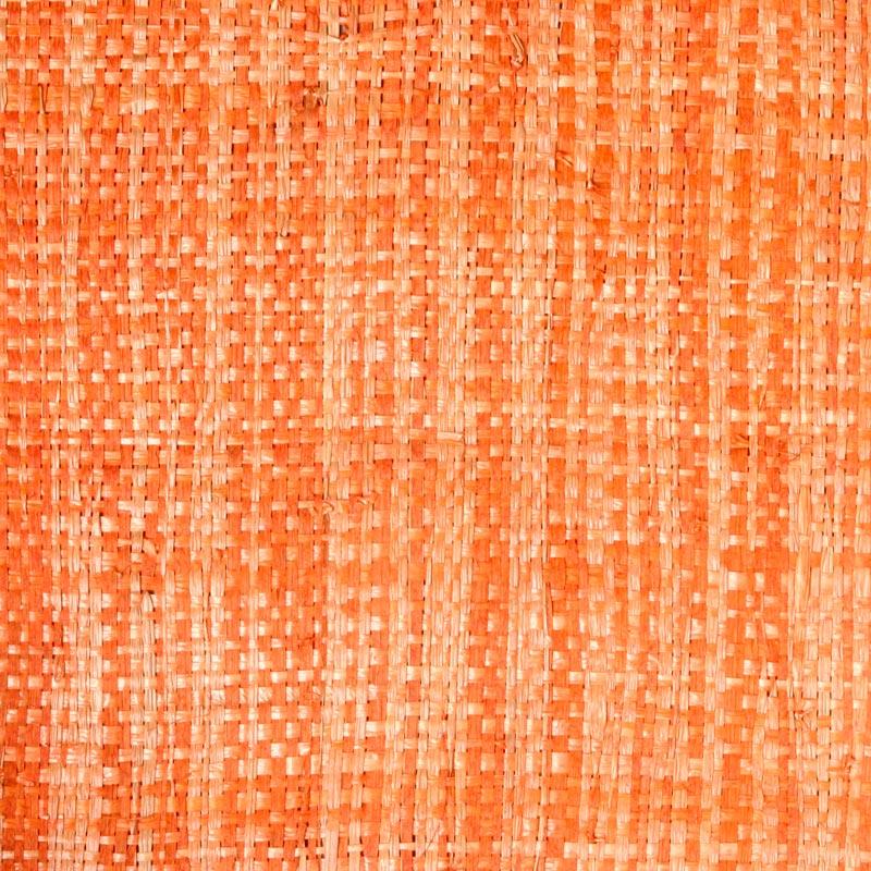 Aneka Tusma Orange Raffia Grasscloth