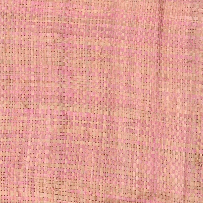 Aneka Tusma Pink Raffia Grasscloth