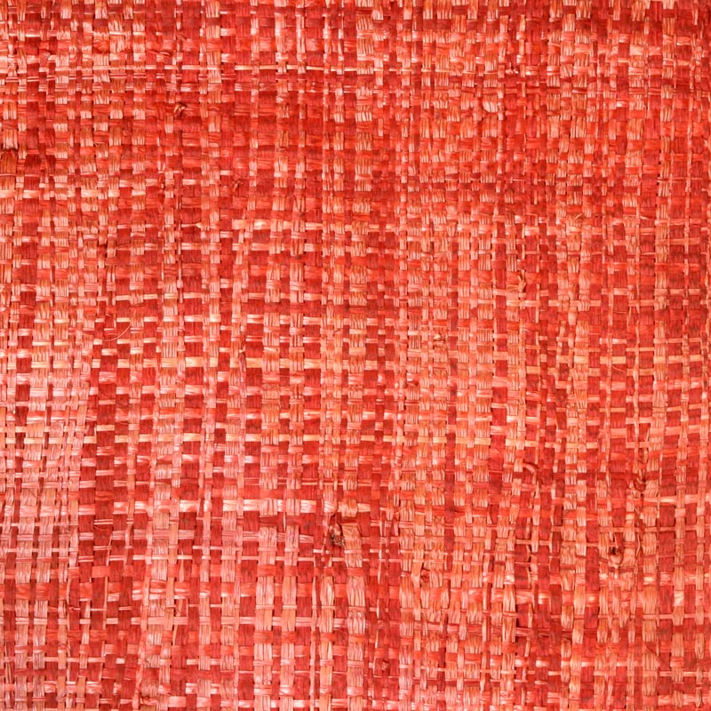 Aneka Tusma Red Raffia Grasscloth