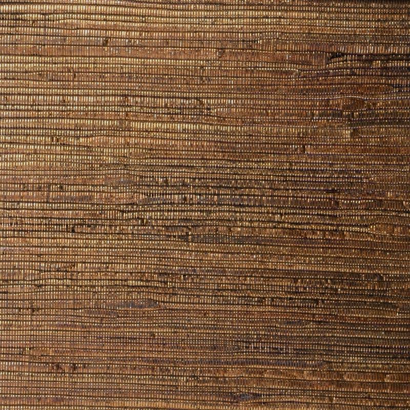 Aneka Tusma Light Brown Metallic Water Hyacinth Grasscloth