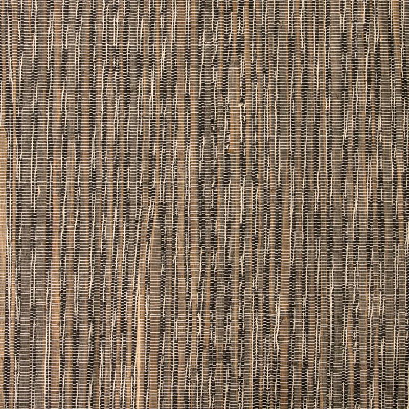 Aneka Tusma Black Water Hyacinth Cotton Slub Grasscloth