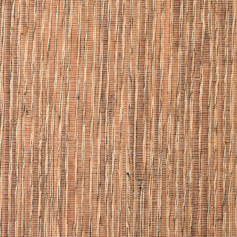 Aneka Tusma Brown Water Hyacinth Cotton Slub Grasscloth