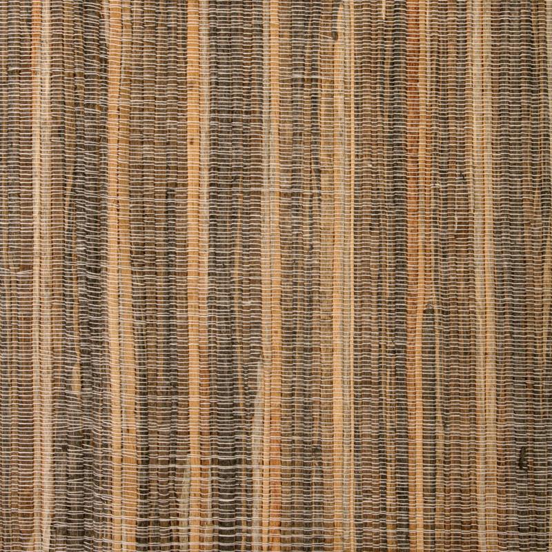 Aneka Tusma Dark Brown Stripe Water Hyacinth Grasscloth