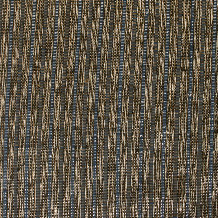 Aneka Tusma Black Blue Slub Fabric