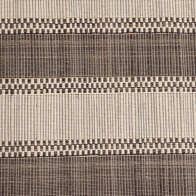 Aneka Tusma Black and White Stripe Mendong Grasscloth